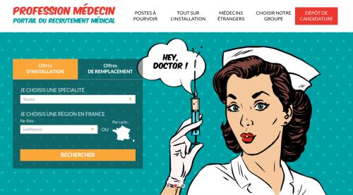 Profession Médecin - home web